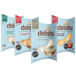 Mix Деликатес от заквасено кашу Delishu