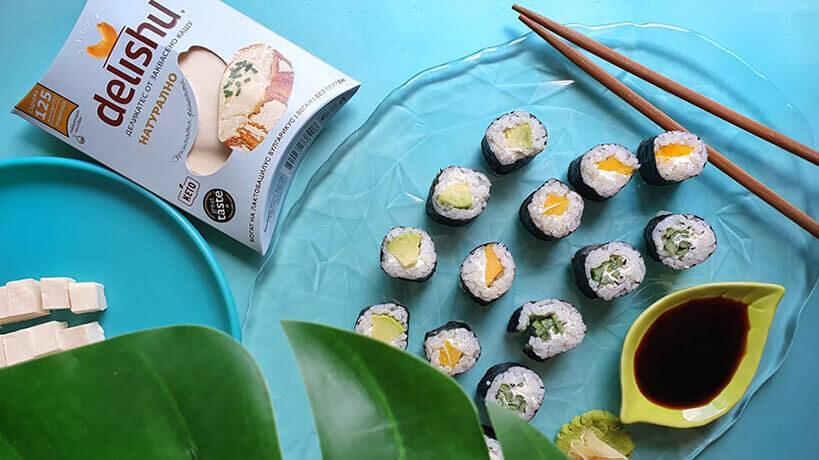 Много лесна рецепта за суши с Delishu
