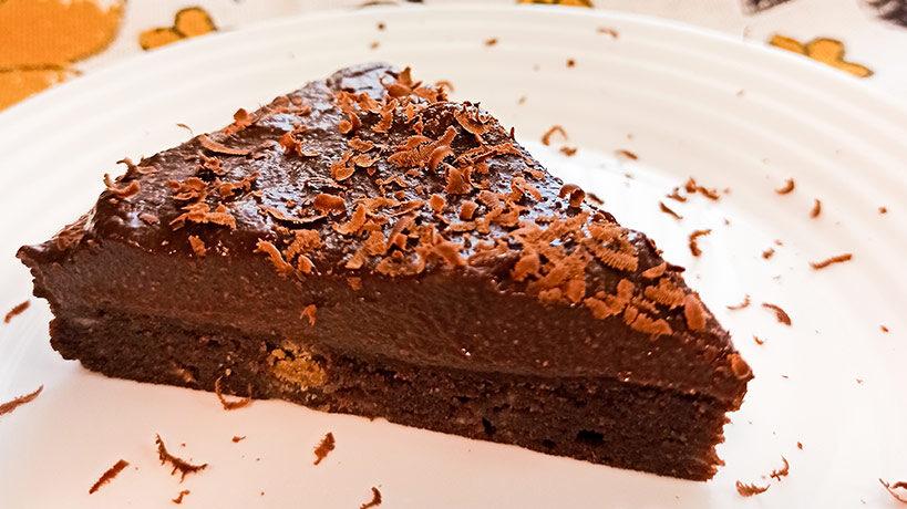 Веган торта гараш с Delishu